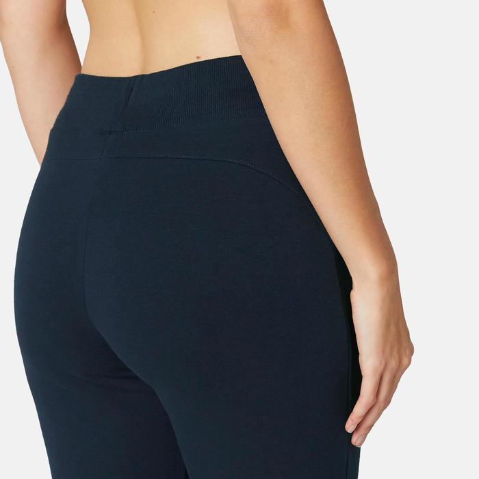 Pantalon Training Femme 510 Slim Bleu Marine