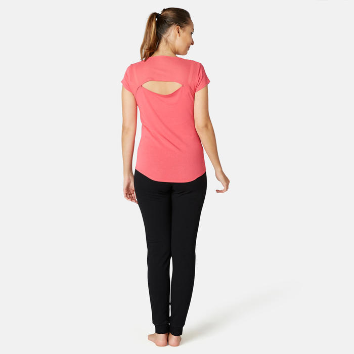 Pantalon Training Femme 510 Slim Gris Chiné
