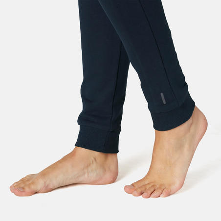 510 Women's Slim-Fit Pilates & Gentle Gym Bottoms - Navy Blue