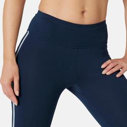 Corsaire Sport Pilates Gym Douce Femme 510 Slim Bleu Marine