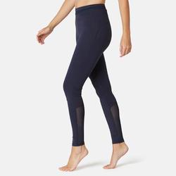 女款運動緊身褲520 - 軍藍色
