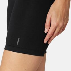 女款自行車短褲Fit+ 500 - 黑色