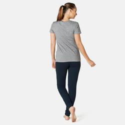 Pantalon jogging femme 510 slim Bleu Marine