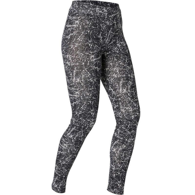 NŐI PÓLÓ, LEGGING, RÖVIDNADRÁG Fitnesz - Női leggings Fit+500 Slim NYAMBA - Fitnesz