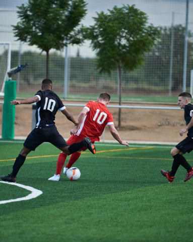 la rapidité dans le foot