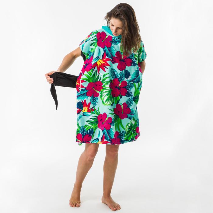 Surf poncho voor kinderen 550 (135 tot 160 cm) Bora