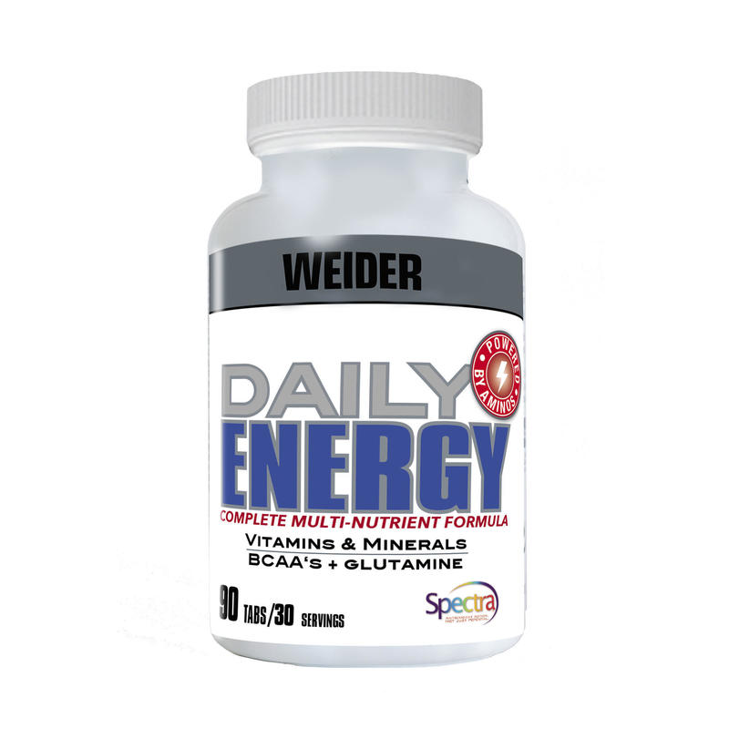 DAILY ENERGY MULTI-VITAMINS & MINERALS + BCAA AND GLUTAMINE