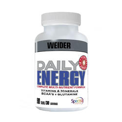 Daily energy multivitamínico & minerais + BCAA & glutamina