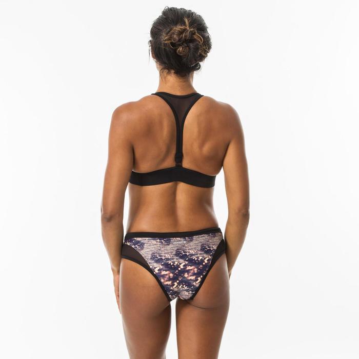 Bikinibroekje voor surfen Savana Water opengewerkte details en aantrekkoordje
