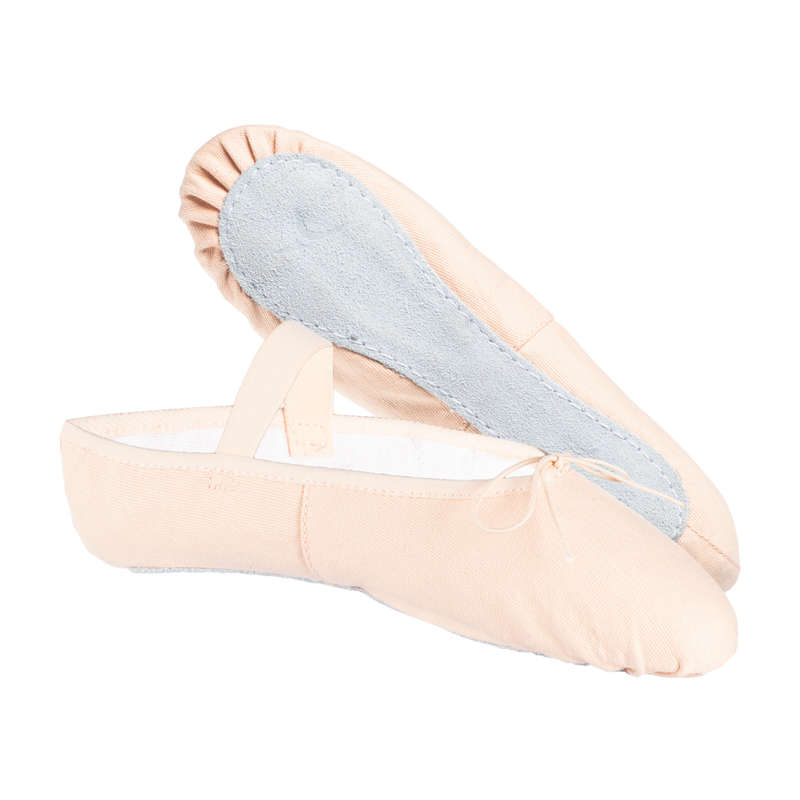 BALLET SHOES Ballet - Full Sole Demi-Pointe Shoes DOMYOS - Ballet