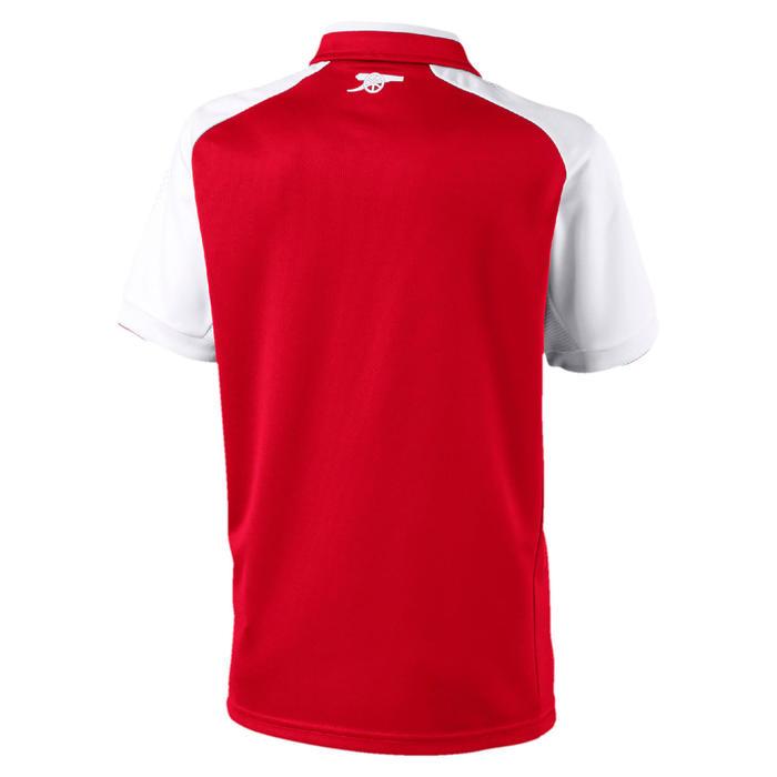 Voetbalshirt replica van het thuismodel van Arsenal voor kinderen rood