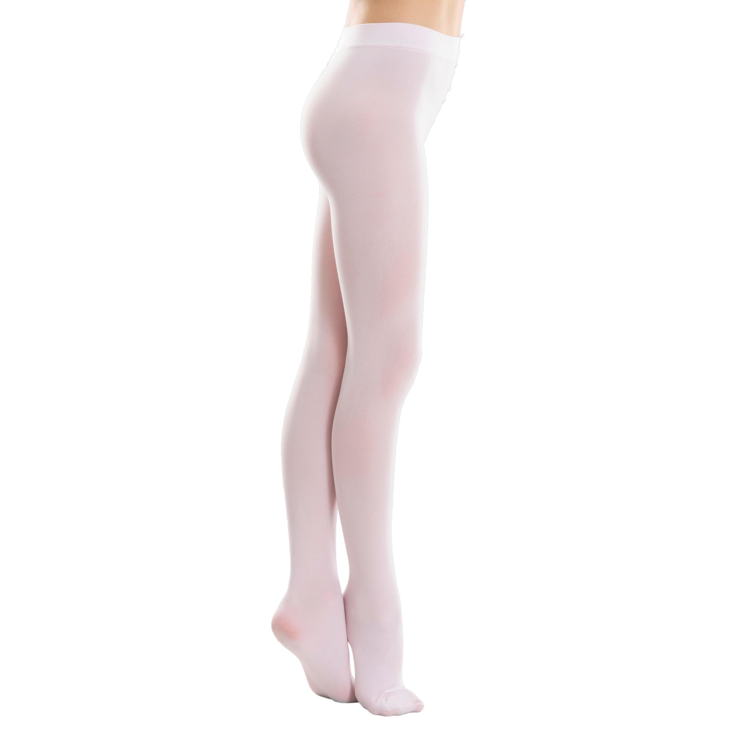 Ballettstrumpfhose Damen rosa | Unterwäsche & Reizwäsche > Strumpfhosen > Strumpfhosen | Domyos