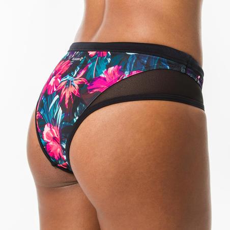 Women's surfing swimsuit bottoms with drawstring SAVANA FOAMY