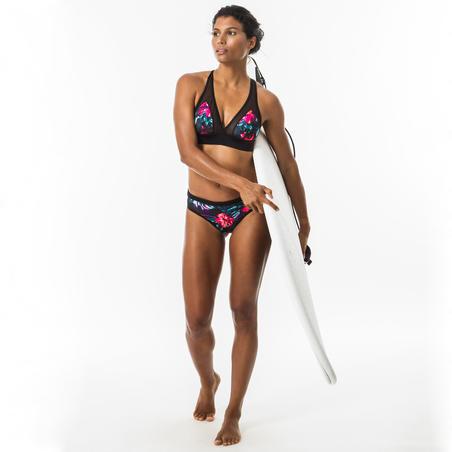 Bas de maillot de surf ajouré avec cordon de serrage Savana Foamy — Femmes