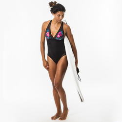 MAILLOT DE BAIN DE SURF 1 PIECE FEMME DOS X ISA FOAMY