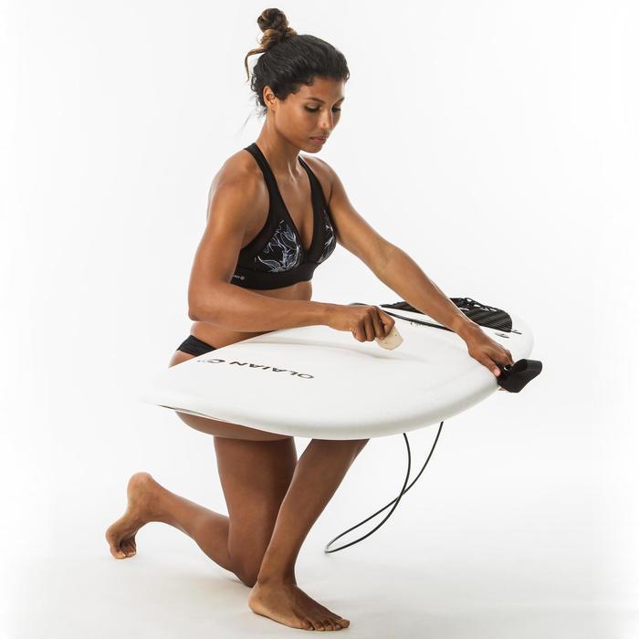 女款巴西衝浪三角泳褲SANA-黑色