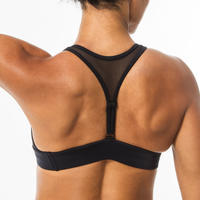 Women's swimsuit top with adjustable back ISA BLACK