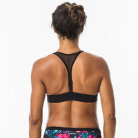 Haut de maillot de bain de surf pour femmes à dos réglable Isa Foamy