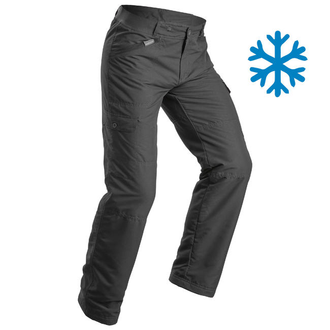 Men's Snow Hiking Pants Ultra-Warm SH100 - Grey