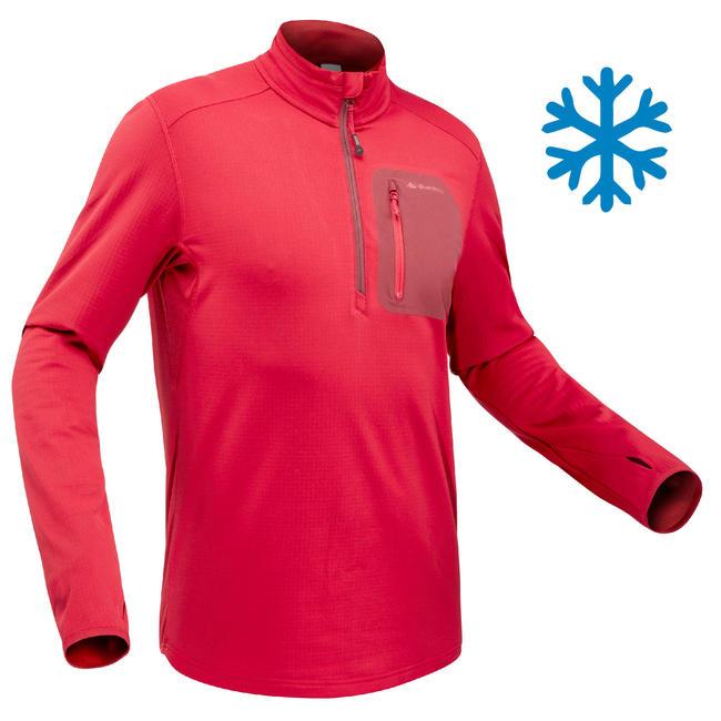 Men's T shirt SH500 (Full Sleeve) Warm - Red