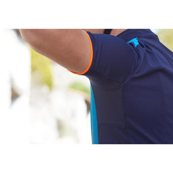 Short-Sleeved Road Cycling Jersey RC500 - Blue Gradient