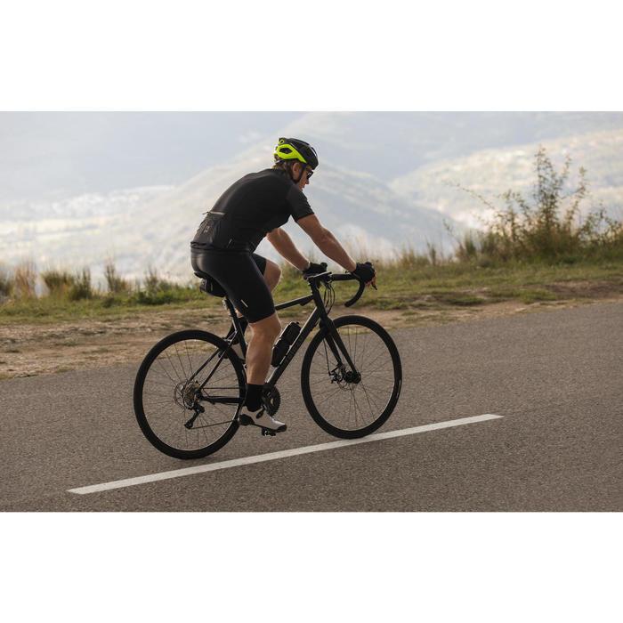 VELO ROUTE CYCLOTOURISTE TRIBAN RC500 NOIR (FREIN DISQUE)