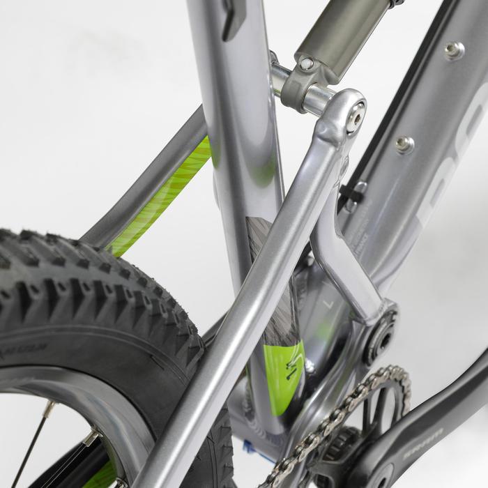 "Mtb rockrider ST 900 S SRAM 1x11-speed mountainbike GRIJS/GEEL 27,5"""