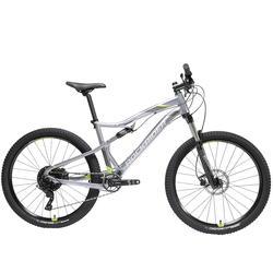 "Mountainbike ST 900 S 27.5"" 1x11 speed sram/microshift grijs/geel"