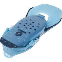 Adult adjustable snorkelling fins SNK 100 Turquoise