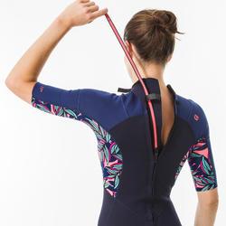 Shorty wetsuit dames 500 WAKU
