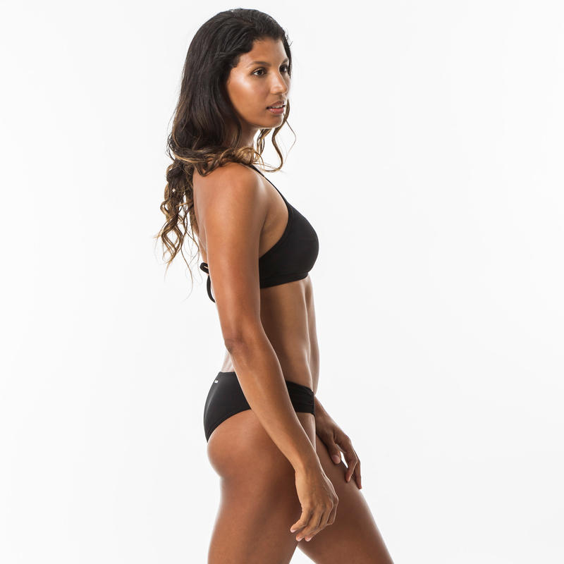 Women's Surf Swimsuit Top - Andrea Black