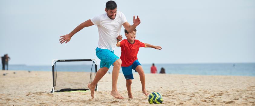 réunion de famille et sport