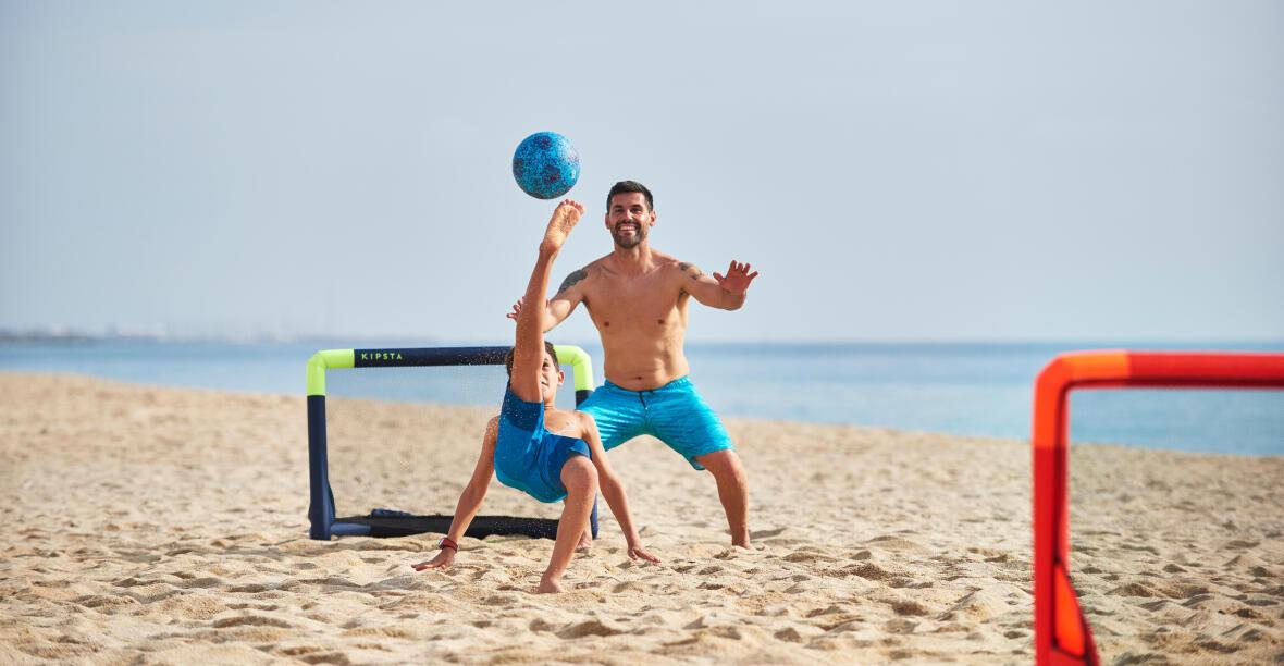 5 strandvoetbalspelen
