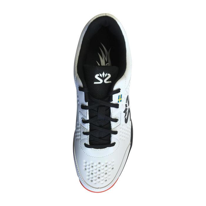 Zapatillas Squash Salming Hawk Court Adulto Blanco/Negro/Rojo