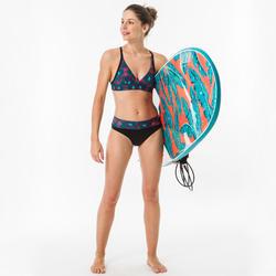Bas de maillot de bain de surf femme taille haute gainante NORA SUPAI ZENITH
