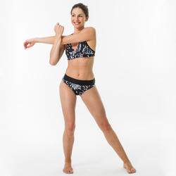 Bikinitop voor surfen Bea Akaru dubbele rugverstelling