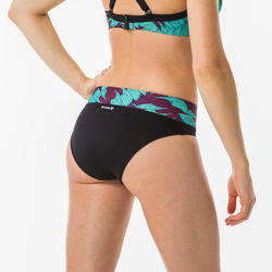 Bas de maillot de bain de surf femme taille haute gainante NORA KOGA MALDIVES