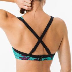 Haut de maillot de bain femme minimizer bretelles réglables EDEN KOGA MALDIVES