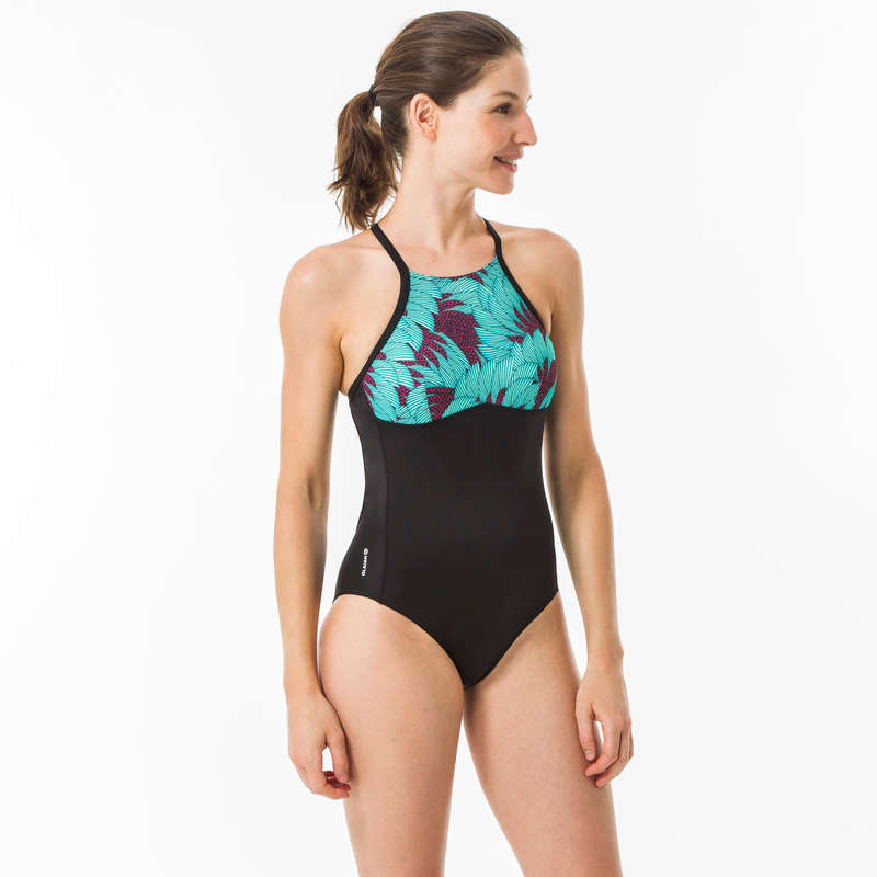WOMEN INTERMEDIATE SURF SWIMSUITS Surf - ANDREA KOGA MALDIVES 1-PIECE OLAIAN - Surf Clothing