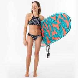 女款衝浪短版上衣(大挖背設計)ANDREA -曇花款