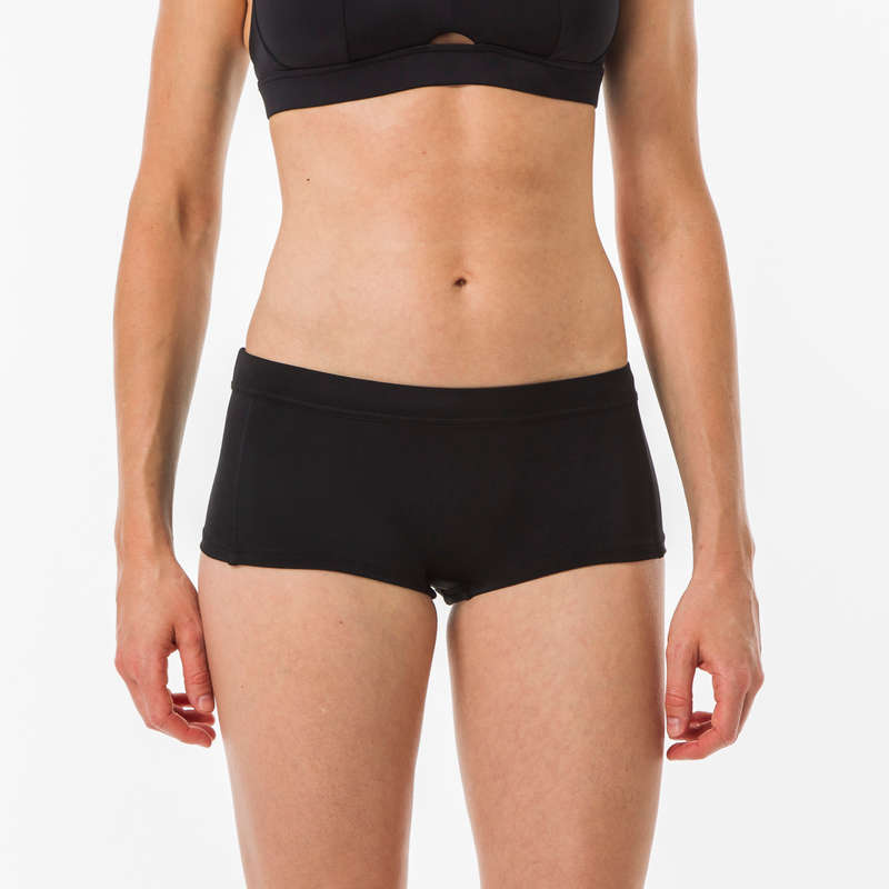WOMEN INTERMEDIATE SURF SWIMSUITS Surf - SHORTY VAIANA BLACK OLAIAN - Surf Clothing