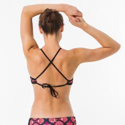 Haut de maillot de bain femme brassière de surf dos dégagé ANDREA SUPAI DIVA