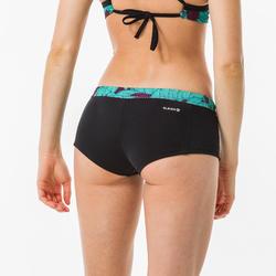 Bas de maillot de bain shorty de surf femme avec cordon VAIANA KOGA MALDIVES