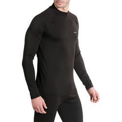 Skiondershirt voor heren Freshwarm zwart