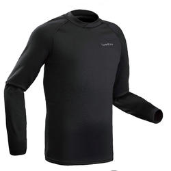 Men's Base Layer Ski Top FreshWarm - Black