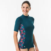 WOMEN'S UV RASH GUARDS SURFING TOP 500 - SUPAI ZENITH