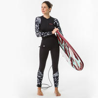 500 anti-UV surfing leggings - Women