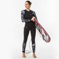 500 Women's Long Sleeve UV-Protection Surf Top T-Shirt AKARU
