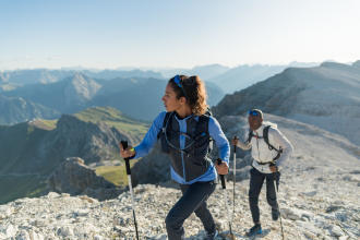 Why not return to your favourite hiking spots to try out some speed hiking?