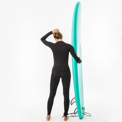 女款抗UV衝浪緊身褲-黑色